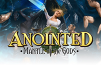 Anointed: Mantle of the Gods RPG Book