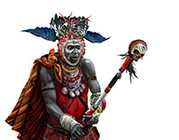 Bantu Witch Doctor