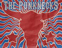 Punknecks Flyer for Will's Pub, 2015