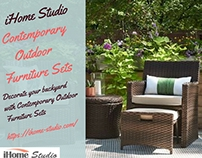 Contemporary Outdoor Furniture Sets