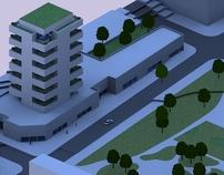 Projeto de prédio residencial.