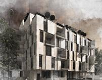 imobil locuinte - Bucuresti - varianta 3