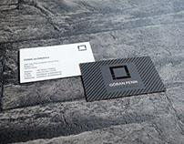 Business Card Design for Architect