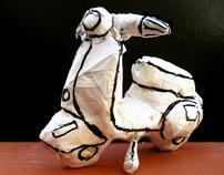 3D · Paper Sculptures