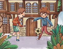 Children's Book Illustrations: Kose Bucak Safranbolu