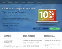 Computer Solutions - Web Design Template