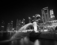 Singapore in Black & White