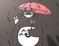 Baymax Totoro