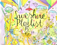 Sunshine Playlist 1&2 CD Cover for EMI