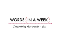 Words in a Week Identity and Website Design