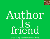 Author is friend