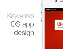 Keyworks IOS app design