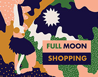 Full Moon Shopping campaign