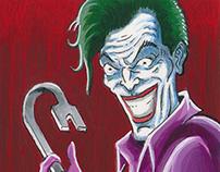 """DC Comics: """"Super Villians"""" Sketch Cards"""