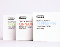 Oral B Dental Floss- Restyling