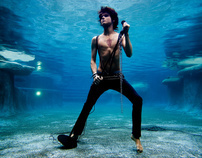 Rock N Roll Underwater Shoot