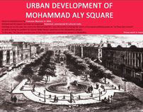 URBAN DEVELOPMENT OF MOHAMMAD ALY SQUARE
