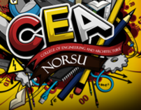 CEA - College of Engineering and Architecture NORSU Tee