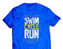 Triathlon Challenge Shirt Design 2015