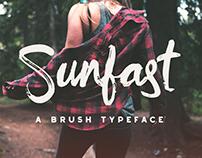 Sunfast Brush Font