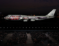 Boeing 100yr Anniversary Projection Spectacular