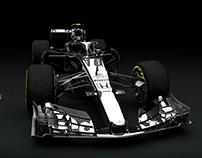 Toro Rosso Honda STR13 CAD Concept Livery