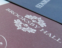 Brooksby Hall - Contact Cards