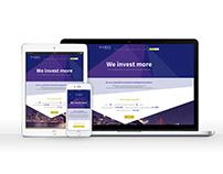 Kames Capital webdesigns