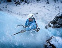 Ice Climbing in the South Tirol