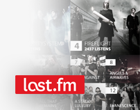 Last.fm Website Redesign