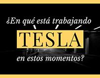 ¿En qué está trabajando Tesla en estos momentos?