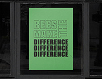 Bees Make the Difference Campaign