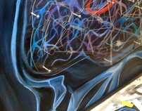 McKnight Institute Neuron Painting