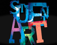 Student Art Exhibition poster, call for entries & form