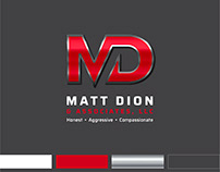 Logo Design for Matt Dion & Associates Law Firm