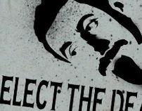 Serj Tankian Stencil