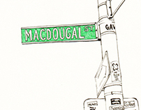 Thesis Project: MacDougal Street Documentation