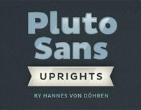 Pluto Sans (Typefamily)