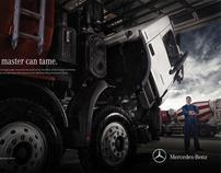 Mercedes-Benz Print Ad.