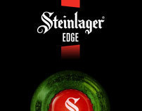Steinlager Edge New Packaging