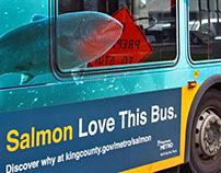 King County Metro Bus Wraps