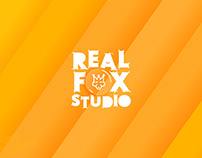 Real Fox Studio - Architectural Visualization Logo