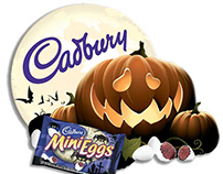 Cadbury Halloween Point of Sale Displays