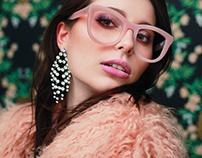 G is for Glasses - Makeup & Photography