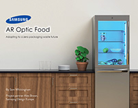 Samsung AR Optic food