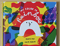 """My color is rainbow"" picture book"