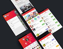 G.QQ.COM Redesign Concept