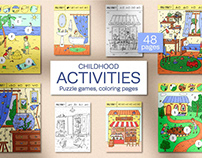 Activities for kids. Childhood