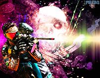 Imagem Jogador times Piratas paintball RJ