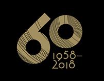 Masino 60 Years Anniversary logo
